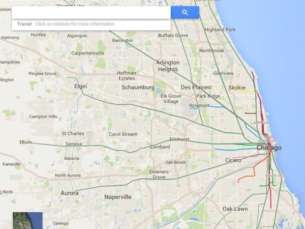 Train/Rail Routes