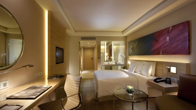 Very Modern room in Double Tree Kuala Lumpur - Courtesy of Hilton
