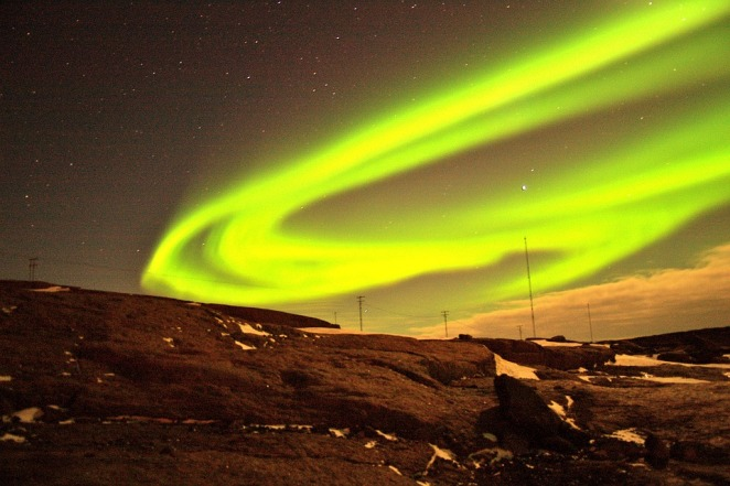 Experience the northern lights in Iceland